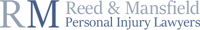 Reed & Mansfield Personal Injury Lawyers footer logo