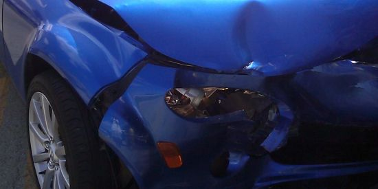 Car Crash Where Airbags Did Not Inflate